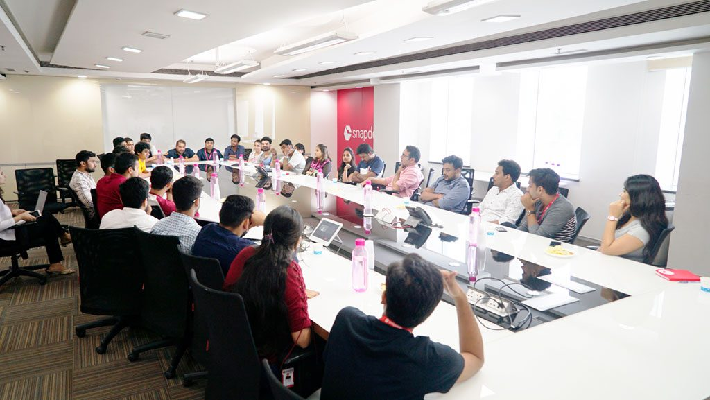 Face-time with founders @snapdeal