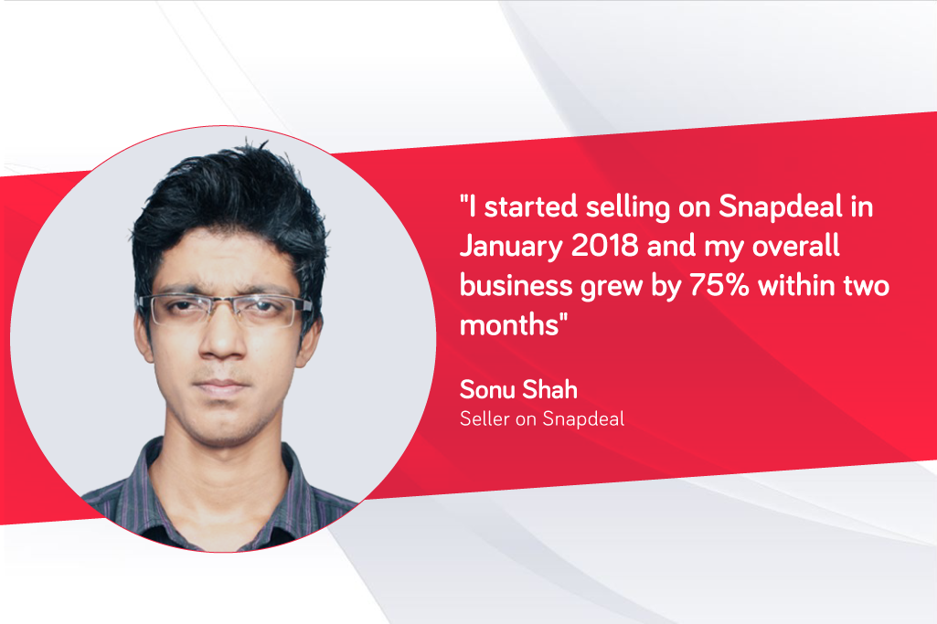 c2912a46b62 23-year-old entrepreneur grows his business by more than 75% with Snapdeal  - Snapdeal Blog