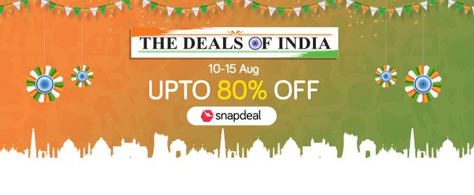 "04c632c55 Snapdeal s ""Deals of India""celebrates the spirit of India Sale"