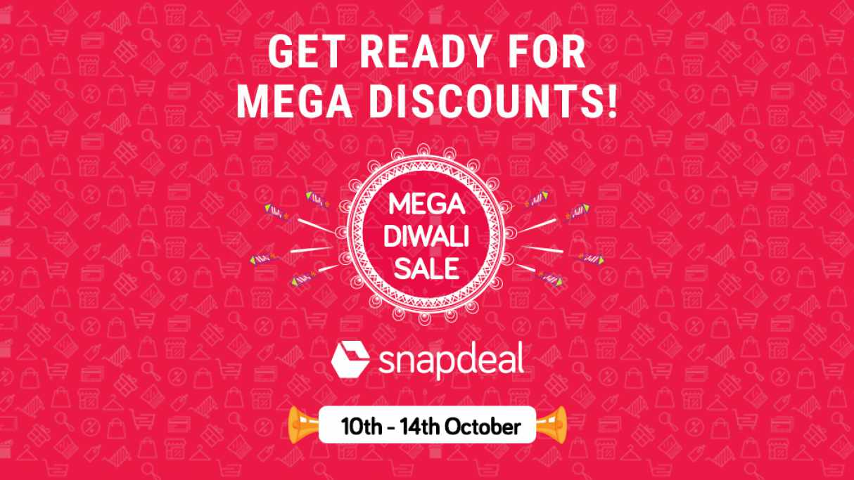 6e8c9fcf5 5-Day Mega Diwali Sale starts on 10th October - Snapdeal Blog