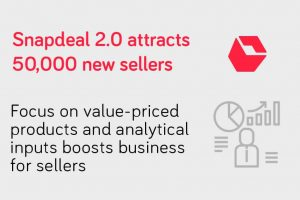 Snapdeal attracts 50000 new sellers