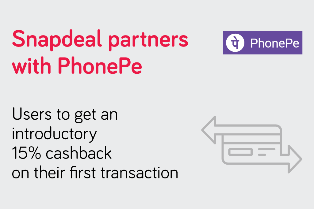 Snapdeal Partners with PhonePe