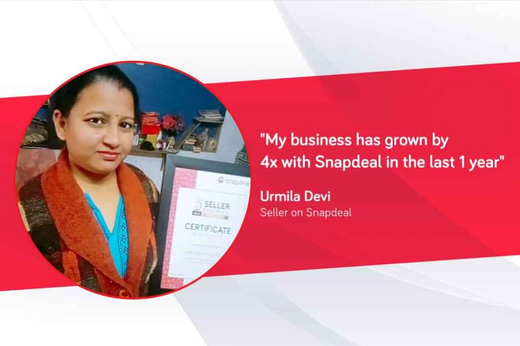b7039ebdcd9 Snapdeal empowered me to be the businesswoman I am today!